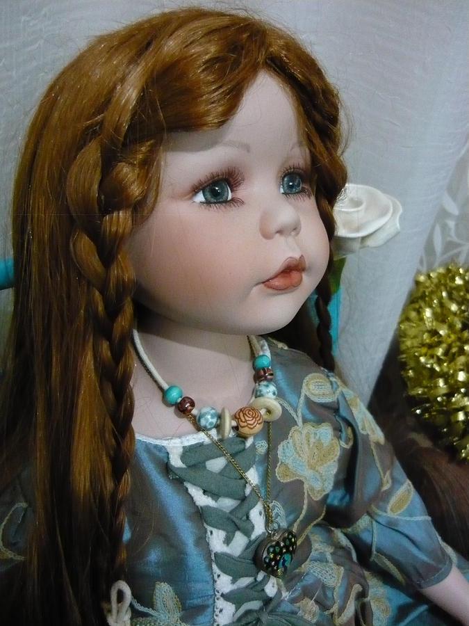 Pre Raphaelite Doll  Photograph by Adrianne Wood