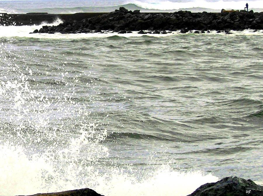 Stormy Photograph - Precarious by Will Borden