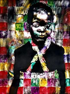 Portrait Mixed Media - Precious by Chester Elmore