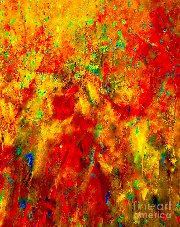 Abstract Mixed Media - Precious Jewels Of The Nile River by Catalina Walker