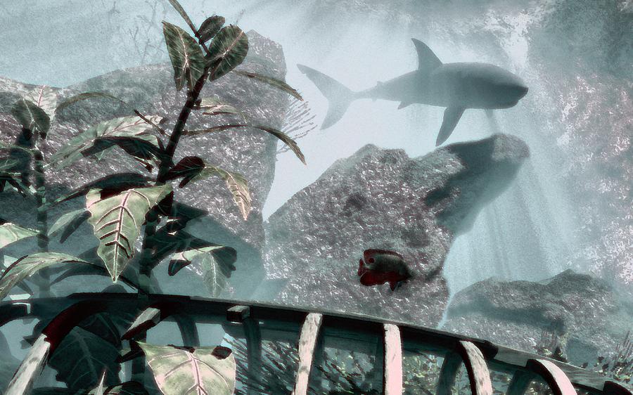 Sharks Digital Art - Predator by Richard Rizzo