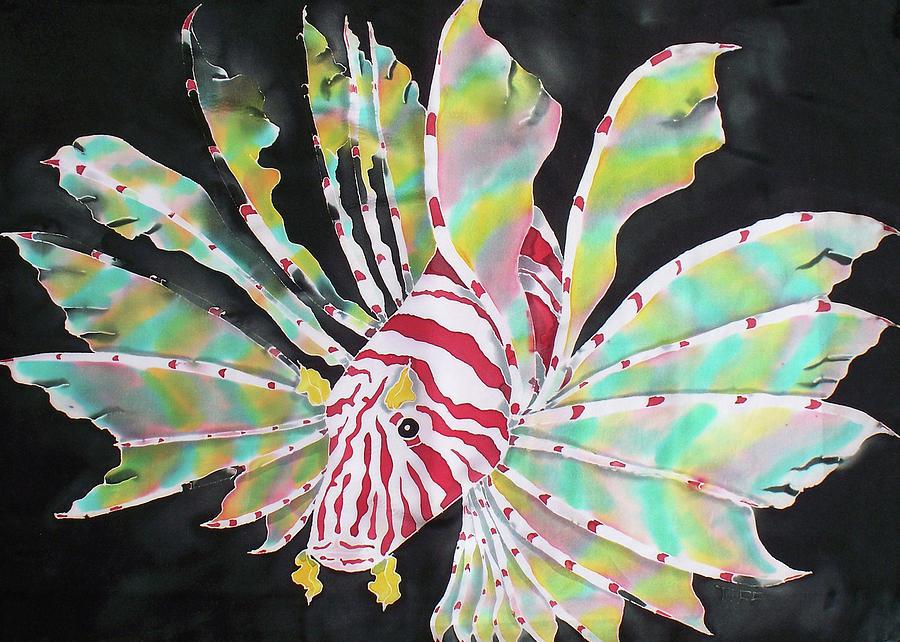 Fish Painting - Predator by Tiff