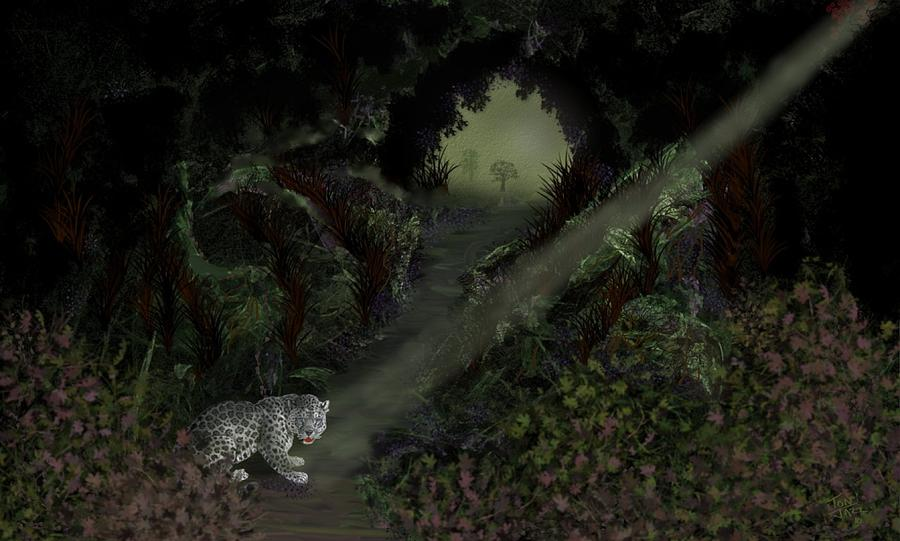 Cheetah Digital Art - Predator by Tony Rodriguez