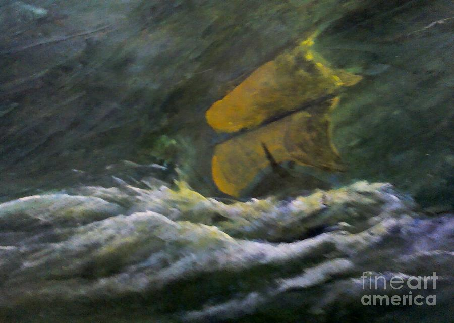 Premonition 1 Painting by Paul Rowe