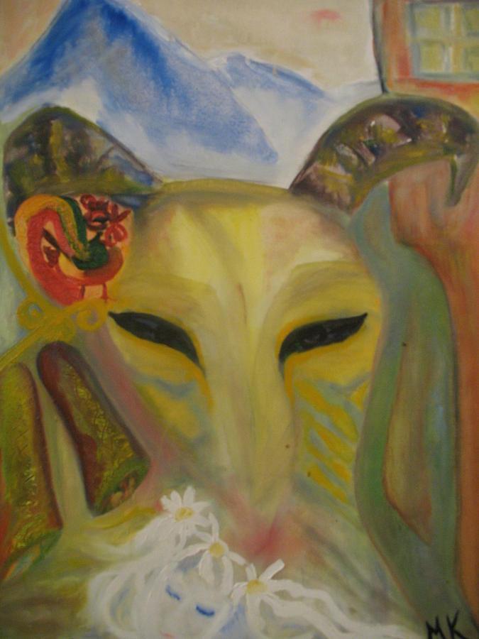 American Painting - Premonition by Maria  Kolucheva