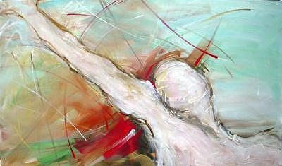 Preogressive II - Acrylics On Canvas  Painting by Aisen Chacin - Venezuela
