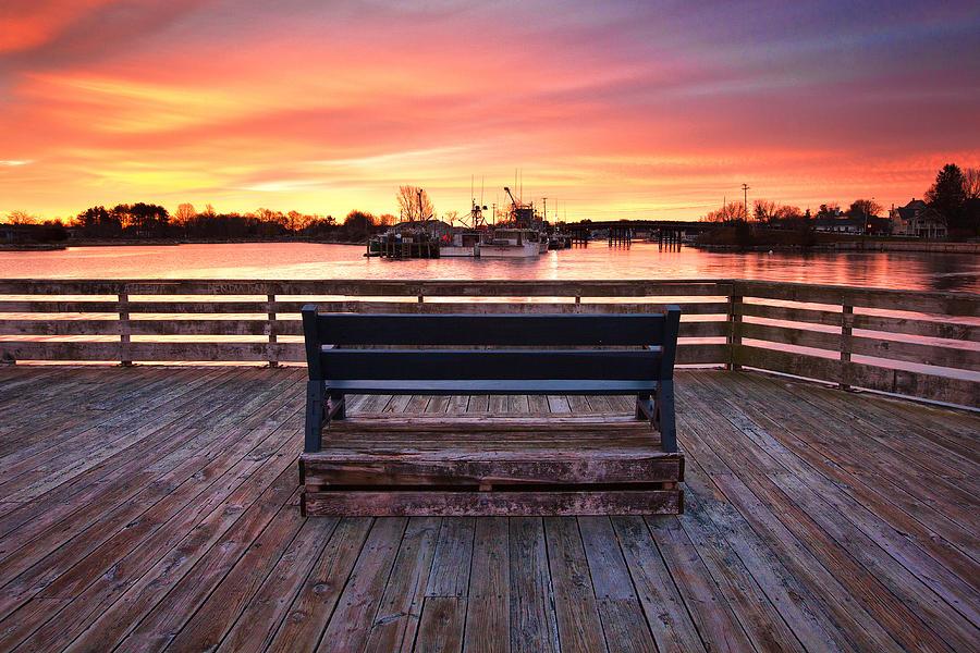 Prescott Park Photograph - Prescott Pier by Eric Gendron