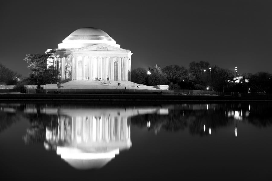 Jefferson Memorial Photograph - Presence Of A Rival by Mitch Cat