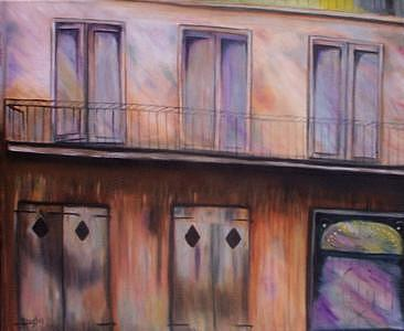 New Orleans Jazz Painting - Preservation Hall New Orleans by Jude Rouslin