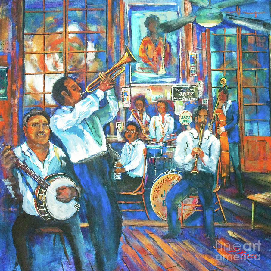 Preservation Jazz by Dianne Parks