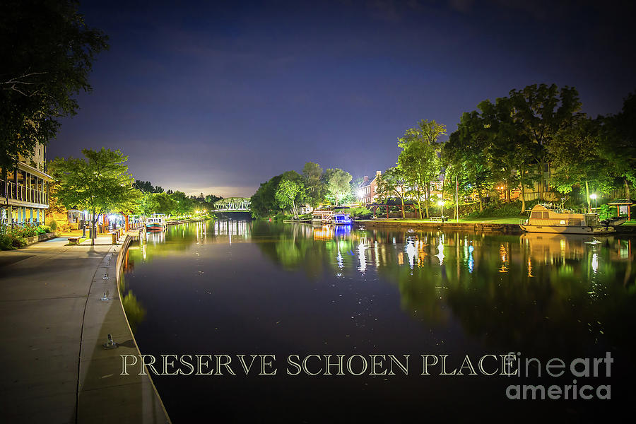 Pittsford Photograph - Preserve Schoen Place by Steve Clough