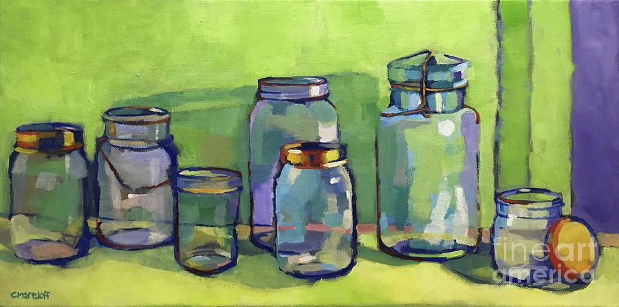 Oil Paintings Painting - Preserving Color by Catherine Martzloff