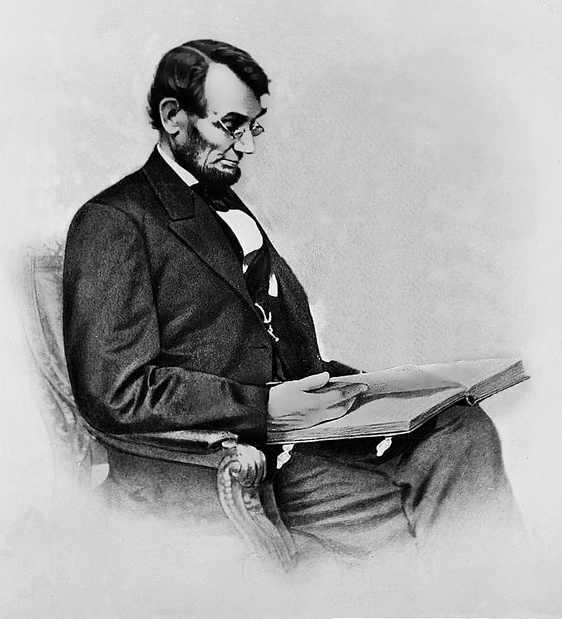 President Drawing - President Abraham Lincoln  by Movie Poster Prints