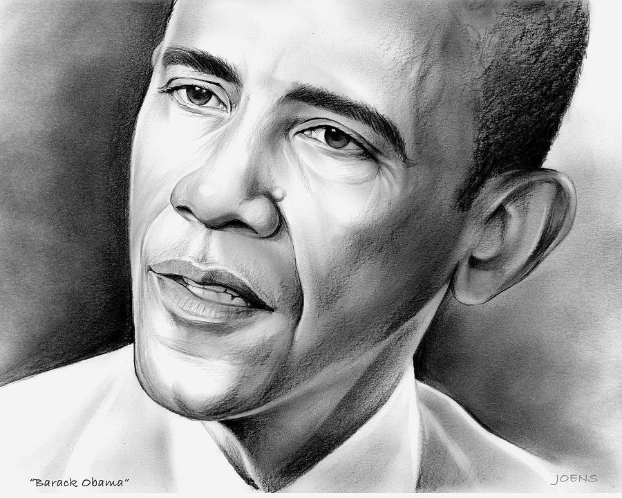 President Barack Obama Drawing