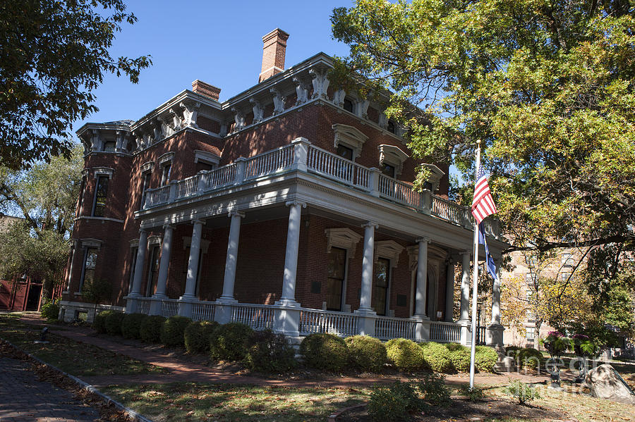 President Benjamin Harrison House Photograph by Jason O Watson  Benjamin Harrison House