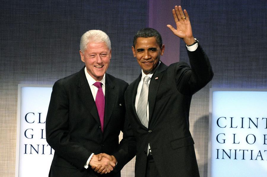President Bill Clinton Photograph - President Bill Clinton, President by Everett