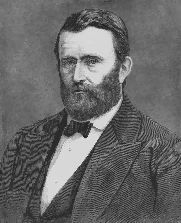 Grant Painting - President Grant by War Is Hell Store