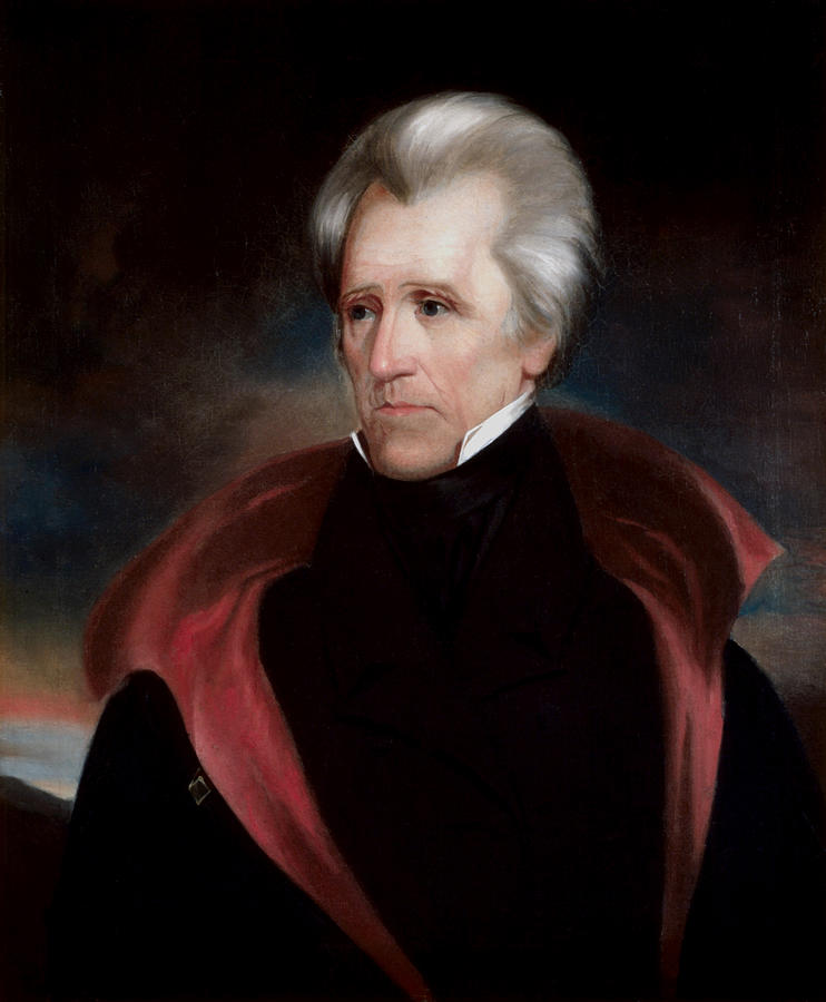 Andrew Jackson Painting - President Jackson by War Is Hell Store