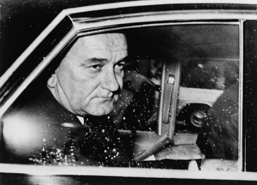 History Photograph - President Lyndon Johnson, Less Than 24 by Everett