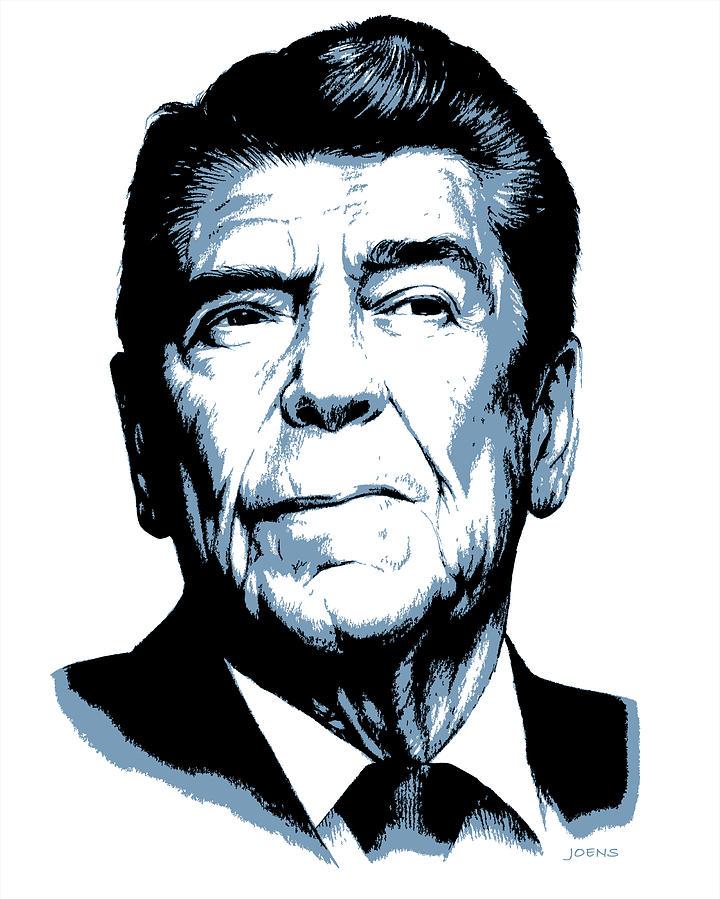 President Reagan Drawing