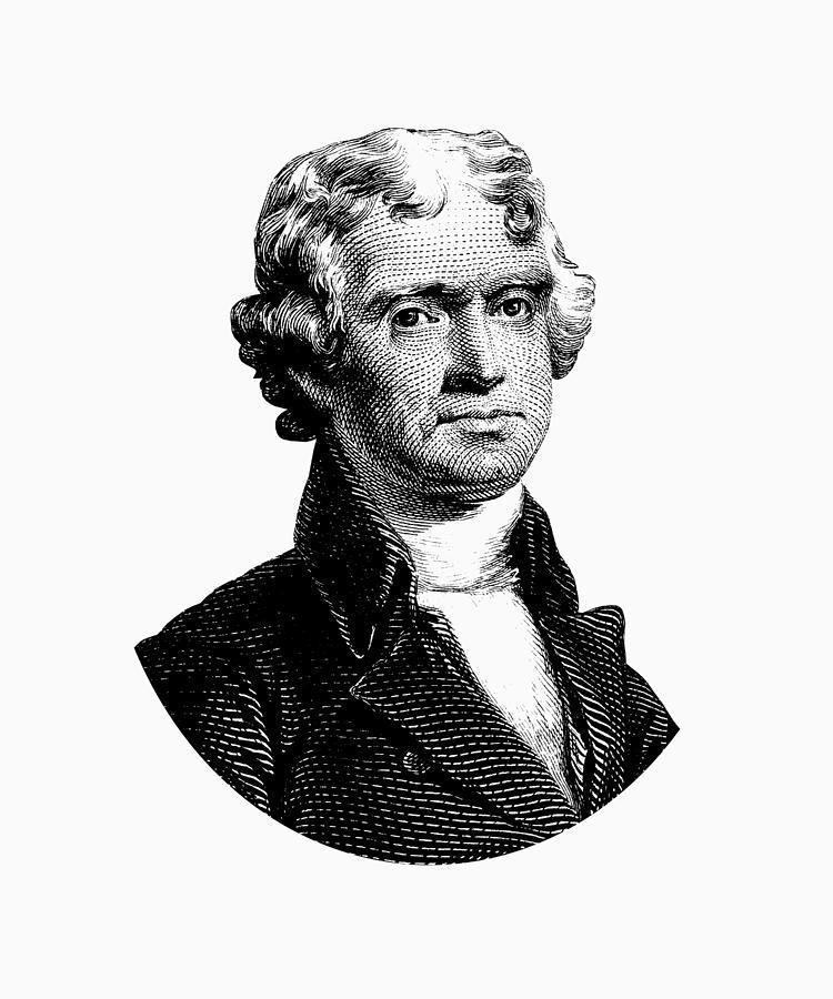 president thomas jefferson images - 750×900