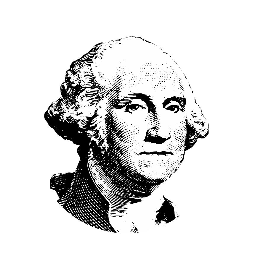 General George Washington Digital Art - President Washington by War Is Hell Store