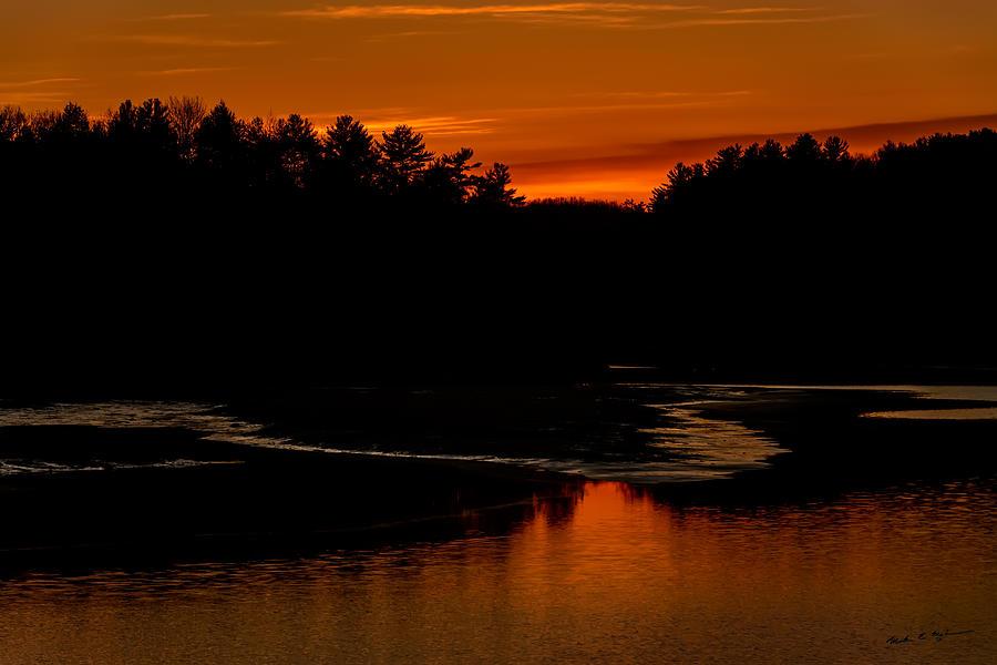Presumpscot Sunset No.101 Photograph