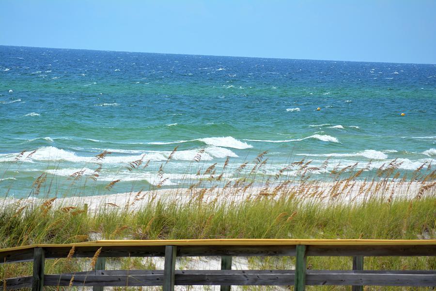 Gulf Of Mexico Photograph - Pretty Blue Gulf by Tamra Lockard