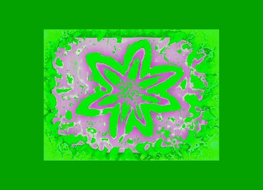 Digital Design Digital Art - Pretty In Liime by Art Speakman