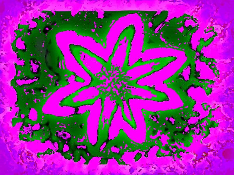 Digital Design Digital Art - Pretty In Pink by Art Speakman