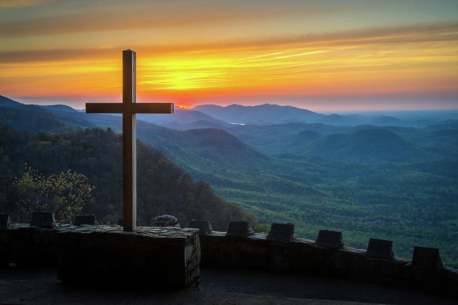 Morning Photograph - Pretty Place Chapel SC Everlasting to Everlasting by Robert Stephens