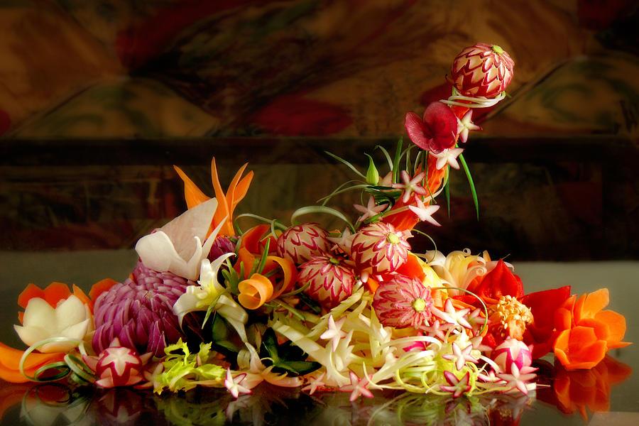 Bouquet Photograph - Priapos Temptation by John Poon
