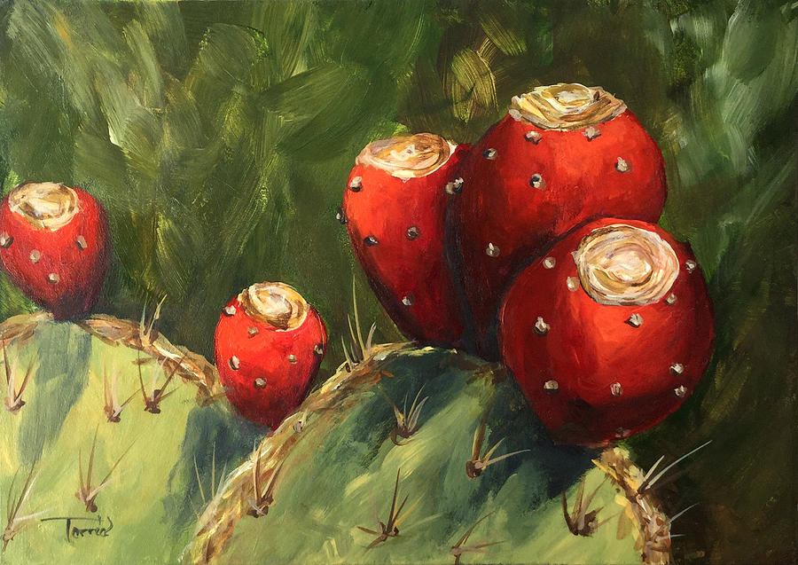 Prickly Pear III by Torrie Smiley