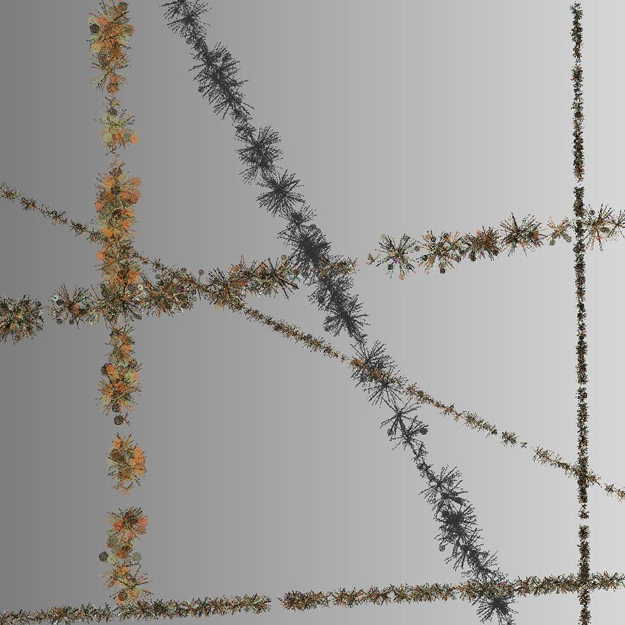 Feng Shui Digital Art - Prickly Series 6-10-2015 #3 by Steven Harry Markowitz
