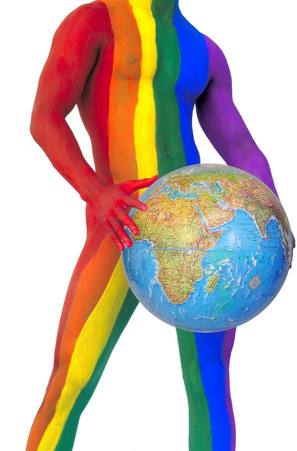 Gay Pride Photograph - Pride Around The World by Filippo Ioco