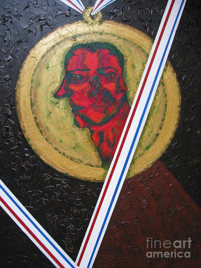 Mixed Media Painting - Pride By Way Of Vanity by Svetlana Vinokurtsev
