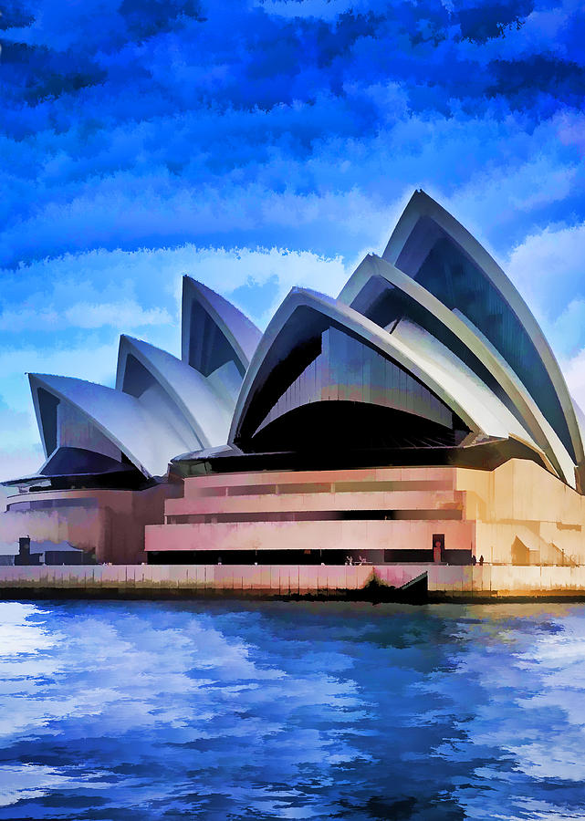 Australia Photograph - Pride Of Sydney by Dennis Cox WorldViews