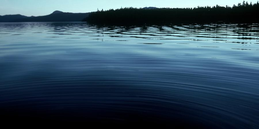 Priest Lake Glass Photograph