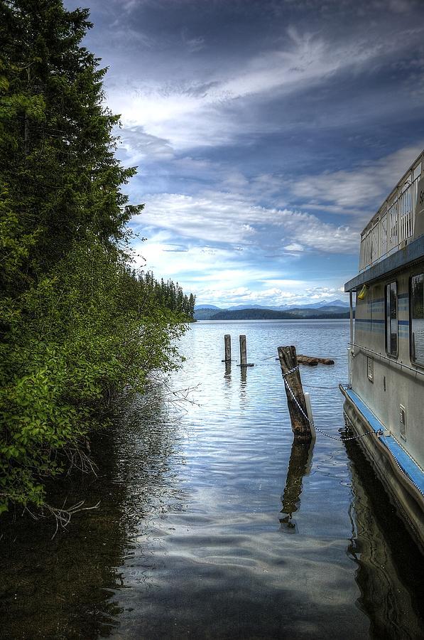 Priest Lake Houseboat 7001 Photograph
