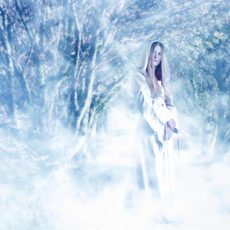 Woodland Photograph - Priestess by John Edwards