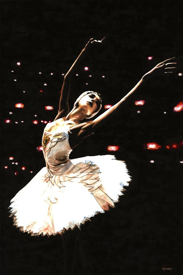 Prima Ballerina Painting - Prima Ballerina by Richard Young