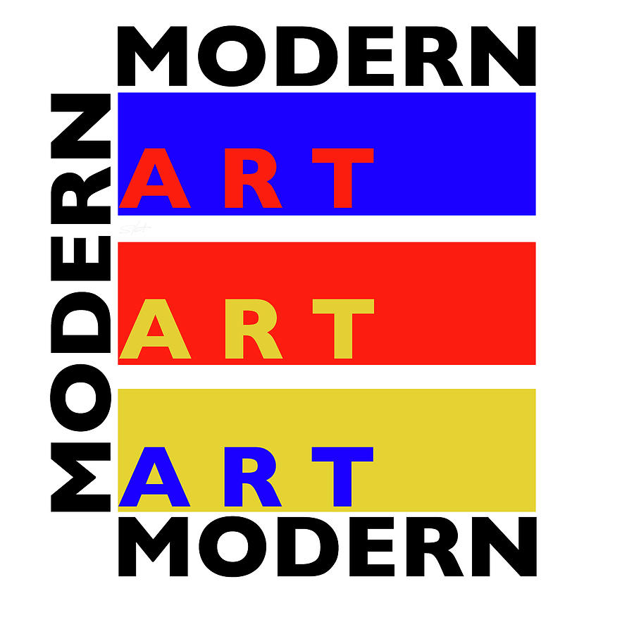 Primary Colors Painting - Primary Modern by Charles Stuart