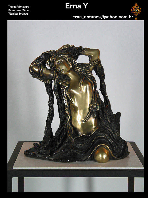 Primavera Sculpture by Erna Y