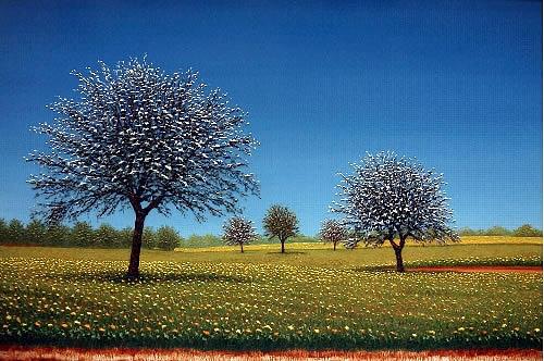 Primavera Painting by Gene  Pompa