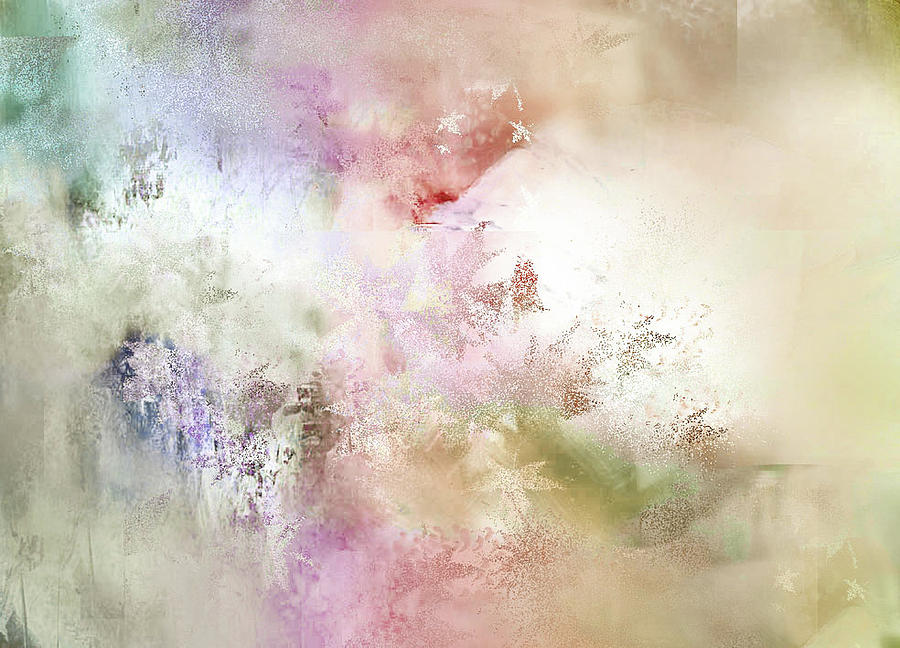 Abstract Painting - Primordial Elements by Davina Nicholas