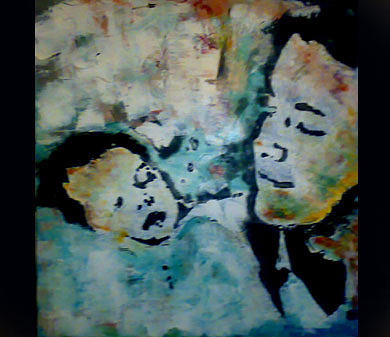 Figurative Painting - Prince And His First Son by Talal Ghadban