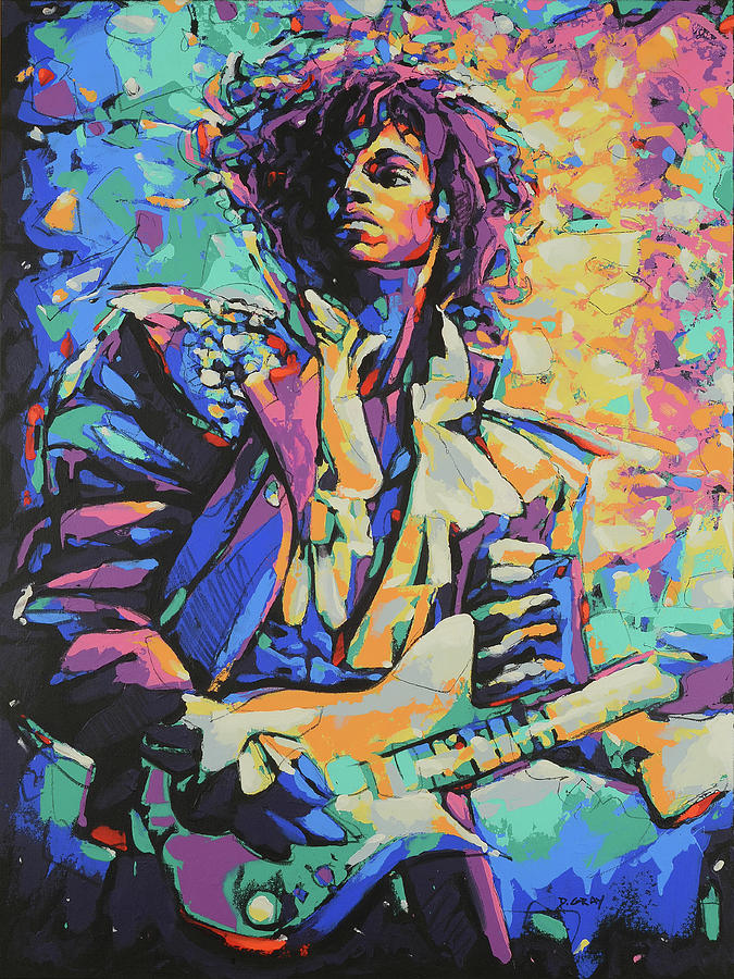 Prince in Color by Damon Gray