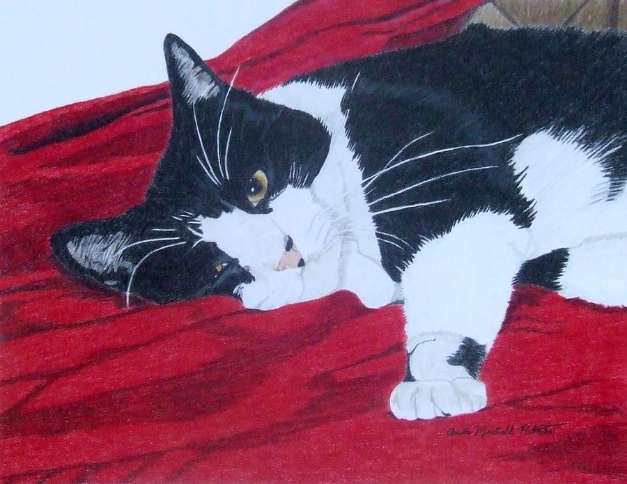 Cat Painting - Prince Charming by Anita Putman