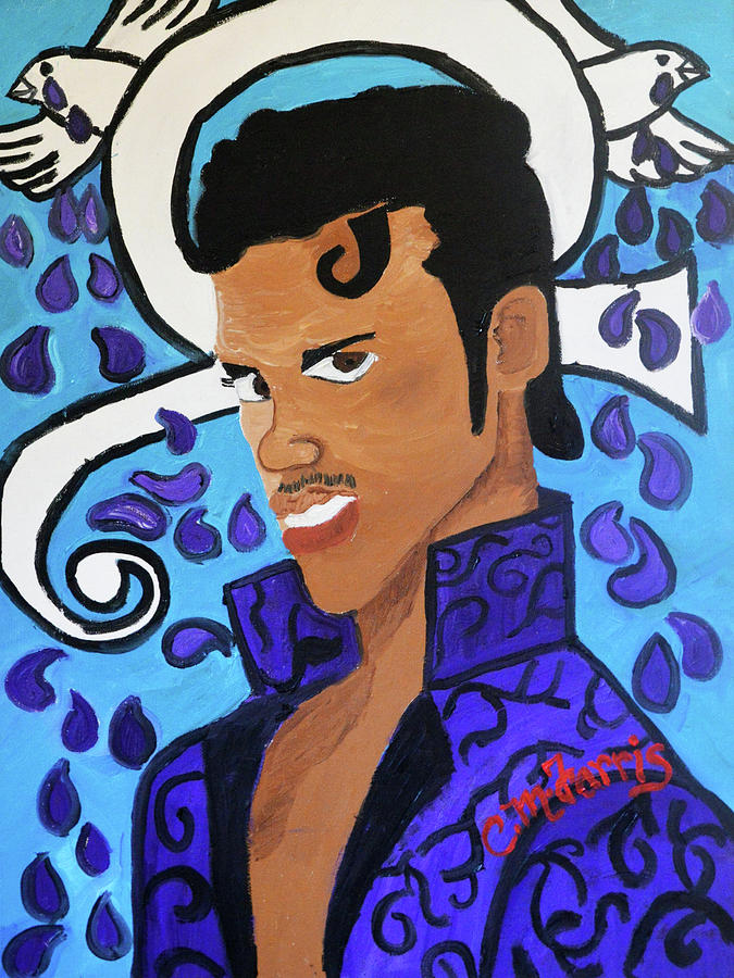 Prince Painting by Christopher Farris