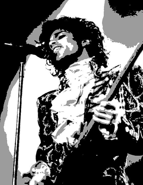 Two Tone Painting - Prince by Dan Carman